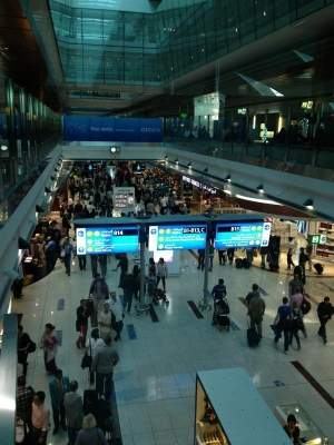 Passenger jets brush off at Dubai airport, no injuries reported