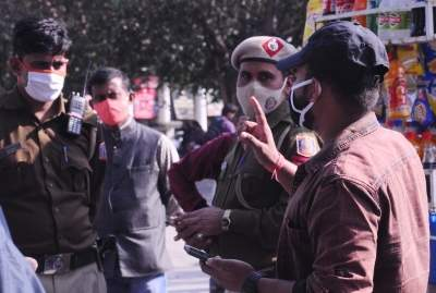 1,306 fined for not wearing masks in Delhi