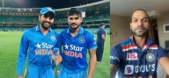 Dhawan shares image of Team India's new limited-overs jersey