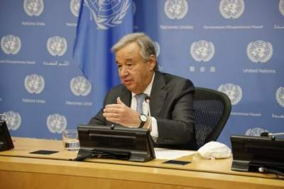 Guterres calls for non-violence, respecting peaceful protests