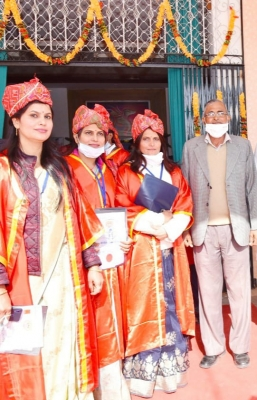 Raj: 3 sisters script history, awarded PhD together in village
