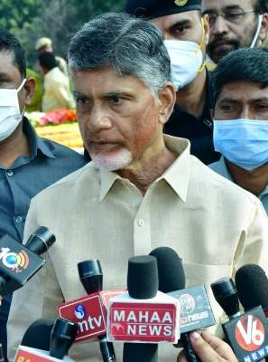 'Chandrababu trying to defame government over Covid variant'