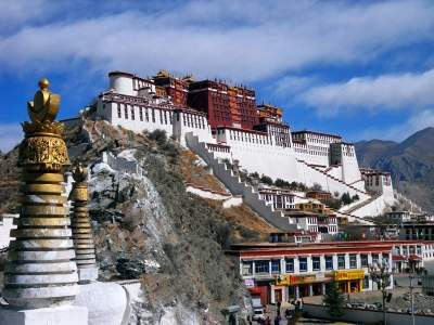 73.7% back restoring Tibet's status as buffer zone between India & China