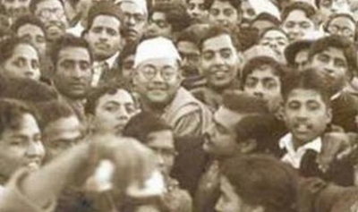 It's only hypocrisy, pretence on Netaji, unless you bring back his mortal remains: Ashis Ray(photo:twitter/Mausam Noor/@MausamNoor/indianhistorypics)