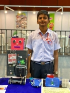 Telangana boy awarded for developing smart wristband for Alzheimer's patients