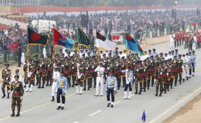 B'desh Armed Forces to participate in India's R-Day parade
