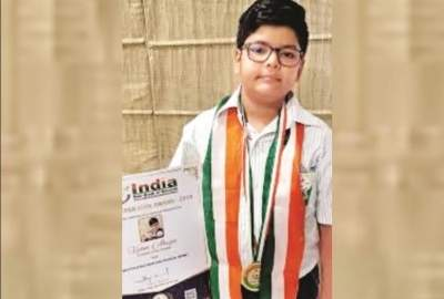 For this boy, it is his 35th National Award in a row