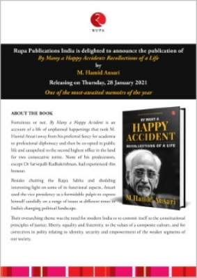 Was never in the running for President: Hamid Ansari in his memoirs