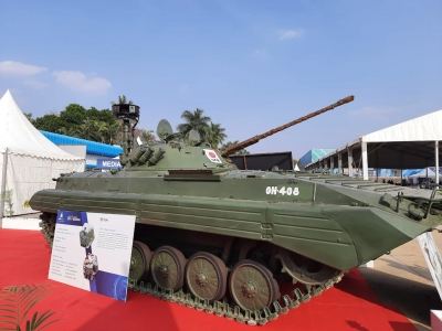 Aero India: Not fighter jet but infantry combat vehicle is showstopper.