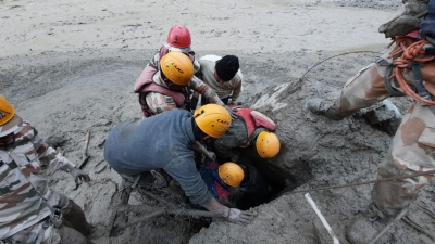 rescue operation by ITBP.