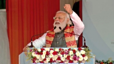 People in abroad conspiring against India, but won't succeed: Modi