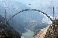 Work on India's first cable-styled bridge in full swing