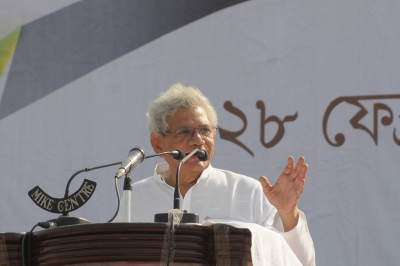 EC should urgently hold all-party meeting to decide on Bengal polls: Yechury