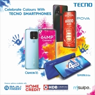 TECNO adds to Holi celebrations with easy finance options on smartphones