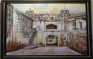 'Jharokha': India's rich architectural heritage captured on canvas