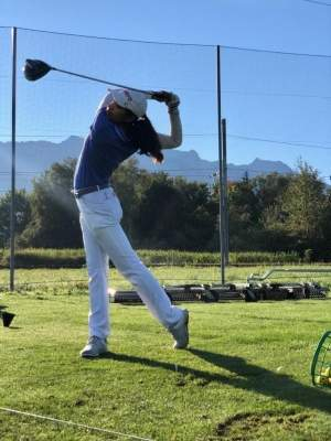 Golfer who didn't let disability daunt her