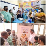 Delhi BJP launches 'tika utsav' at 140 MCD health facilities
