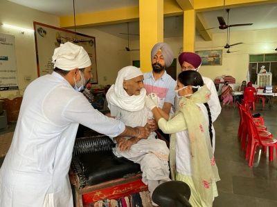 At 105, she becomes flag bearer for vaccination in Punjab.