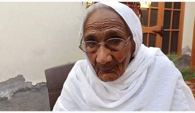 At 105, she becomes flag bearer for vaccination in Punjab