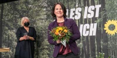German Chancellor candidate says husband will mind the kids if she wins