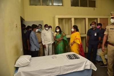 200-bed Covid isolation centre opened in Hyderabad