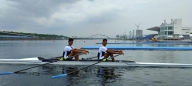 Olympics: Rowers qualify for semis in men's lightweight double scull