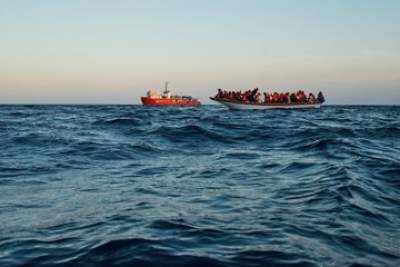 Aid ship rescues over 300 people in Mediterranean