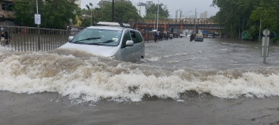 Mumbai: Scenes from different parts of the city hit by heavy rains, flooding, etc.
