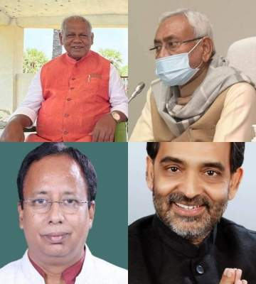 All is not well among 4 coalition partners in Bihar