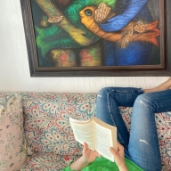 Twinkle Khanna gives glimpse of her 'upside down' world