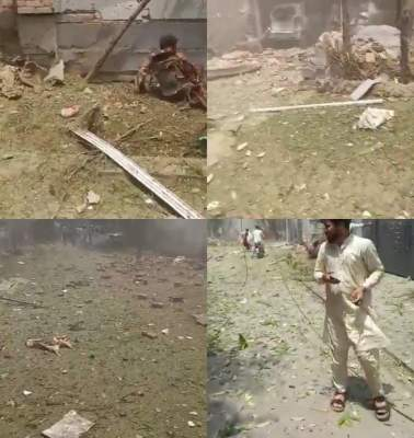 Blast near Hafiz Saeed's house in Lahore claims 2 lives, injures over 15