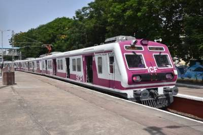 After 15 months MMTS trains return to Hyd tracks