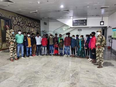 CISF foils child trafficking attempt, rescues 15 children in Ranchi