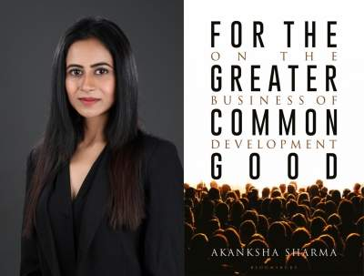 One evolves with every written and unwritten sentence, says author Akanksha Sharma