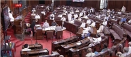 RS adjourned second time till 2 pm after oppn protest (Ld)