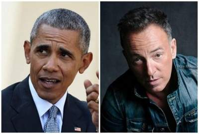 Obama, Springsteen to share 'American stories' in new book