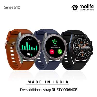 Homegrown Molife unveils new smartwatch at Rs 4,499