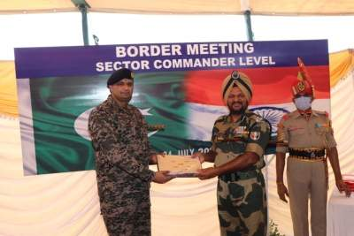 BSF lodges protest with Pak Rangers over increased drone activity