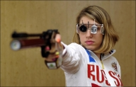 Vitalina wins air pistol gold for ROC as Manu, Yashaswini bow out in qualification
