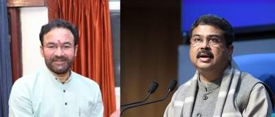 Pradhan writes to Kisan Reddy for preservation of Swapneswar temple in Odisha