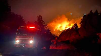 Turkey continues to battle raging wildfires in coastal resorts
