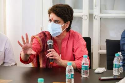 Priyanka to be in Lucknow from Monday to take stock of poll preps