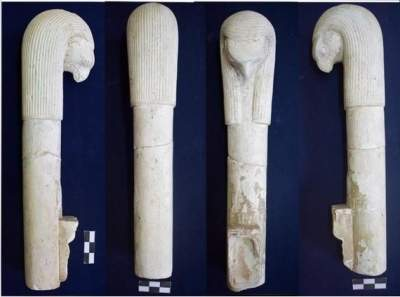 Ancient ritual tools unearthed in Pharaonic site in Egypt