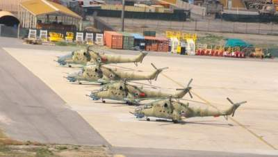 Dozens of choppers, hundreds of Humvees transferred out of Afghanistan