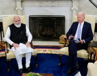 Modi, Biden launch 'new chapter' in India-US ties to face tough challenges (Lead)