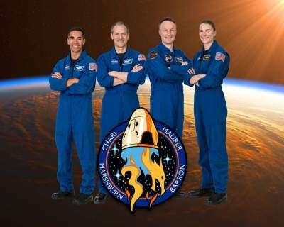 Indian-American astronaut part of SpaceX Crew-3 mission