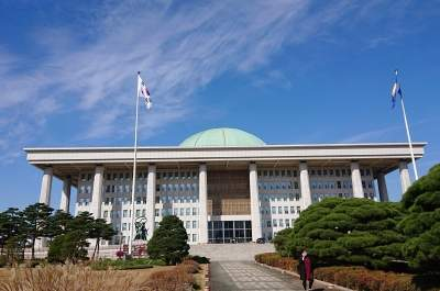 Man apprehended for bomb hoax call to S.Korea's National Assembly