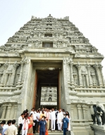 Gold donations pour in for Telangana's Yadadri temple