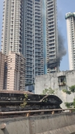 One falls to death as fire breaks out in 61-storey Mumbai building (2nd Ld)