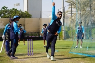 Throw-downs to batters & tips to wicketkeepers, MSD moves into his new role